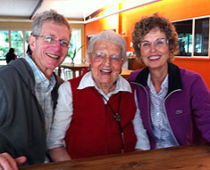 Clive, Mootie and Anthea reunited 60 years later in Australia