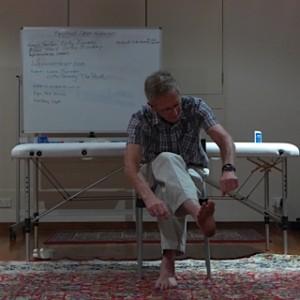 "Clive's comedy sketch on "" Langer Lines"""